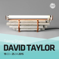 David Taylor/Taking Shape19.03.2015 - 25.04.2015