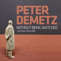 Peter Demetz/Without Being Watched 03.03.2016 - 30.04.2016